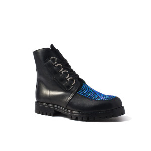 Festival Blue Crystal Boot