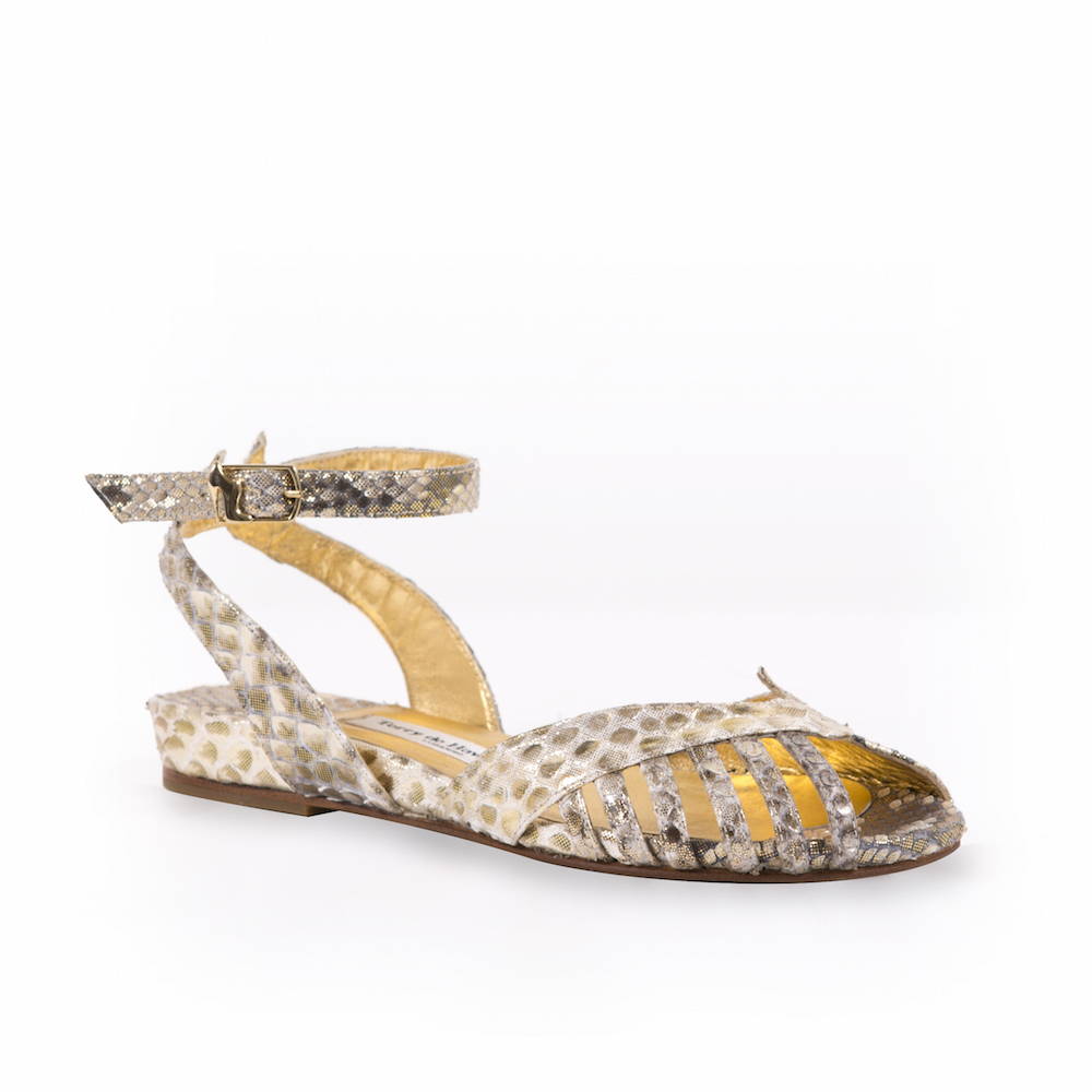 Kitty Margaux Python Gold Terry de Havilland 2