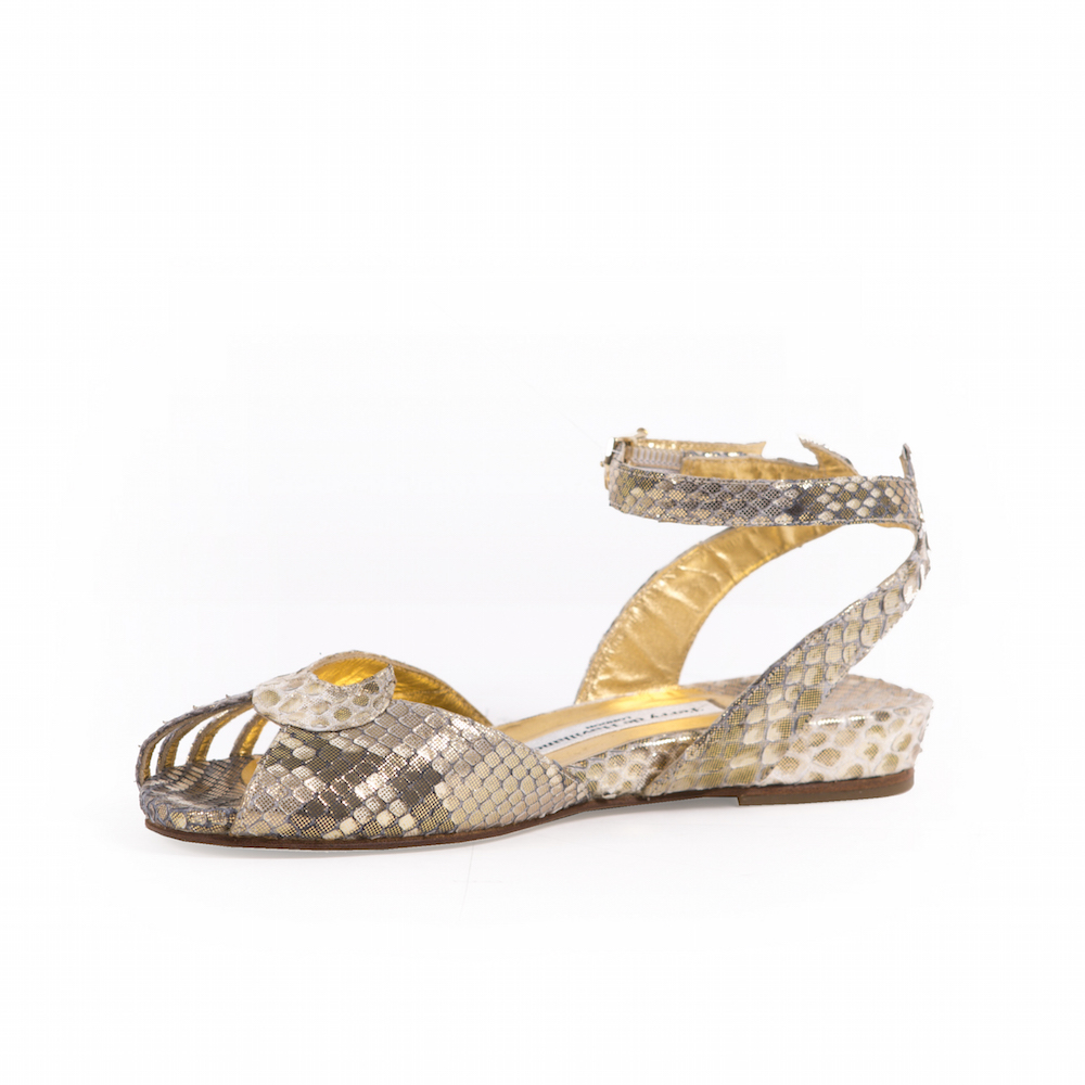 Kitty Margaux Python Gold Terry de Havilland 4