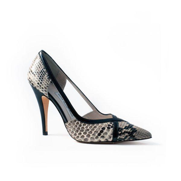 Mandi Natural Stiletto Heel 1
