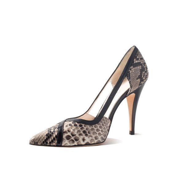 Mandi Natural Stiletto Heel 3