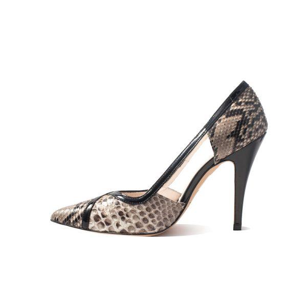 Mandi Natural Stiletto Heel 4