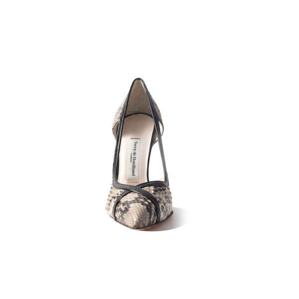 Mandi Natural Stiletto Heel 2