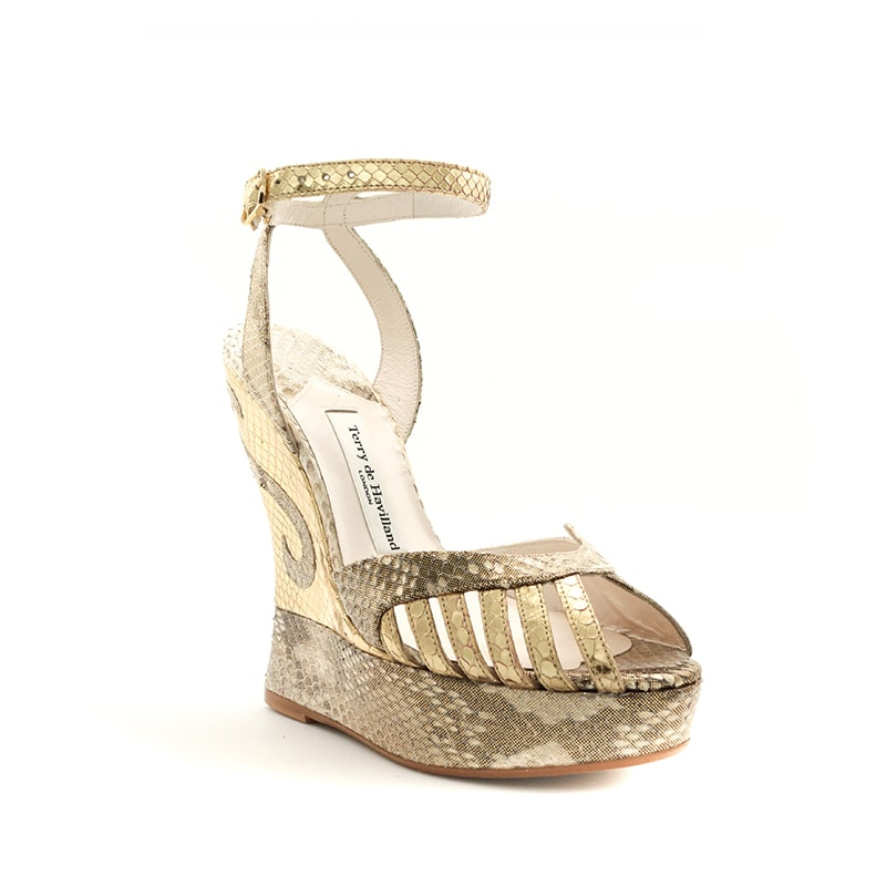 dbff3f6b8904dc margaux gold wedge. margaux gold left angle
