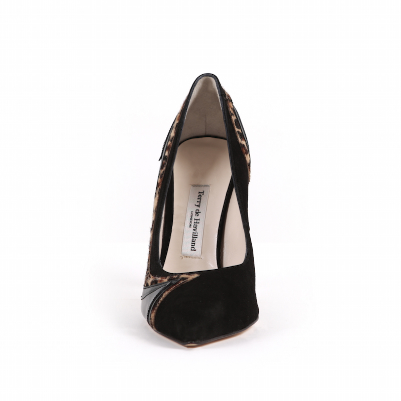Swirl Stiletto Black Leopard Terry de Havilland 3