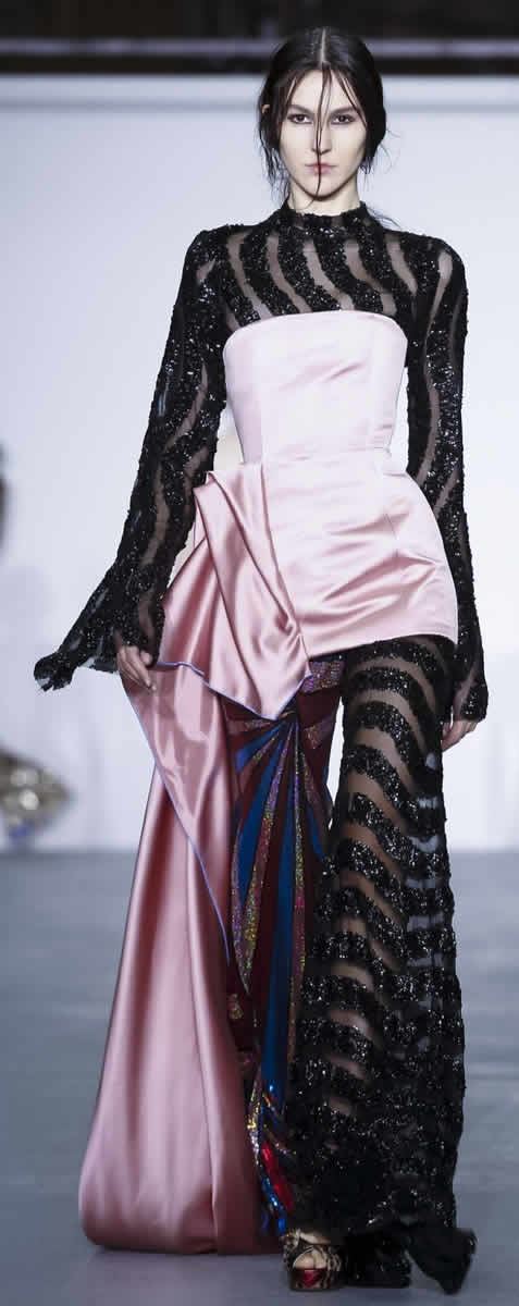 Central Saint Martins MA Fashion Show, Ready To Wear Collection Fall Winter 2016 in London