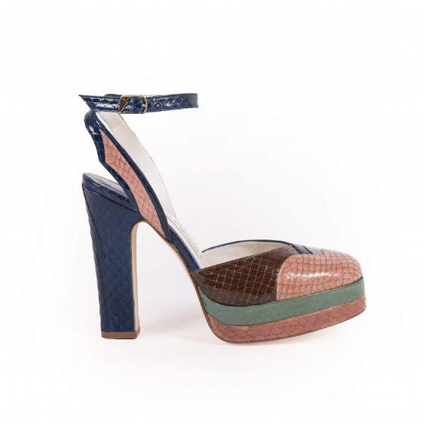 Lily Anna Sui Terry De Havilland Blue Pink 1