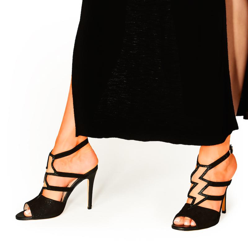 Lightning Sandal Black Product Image