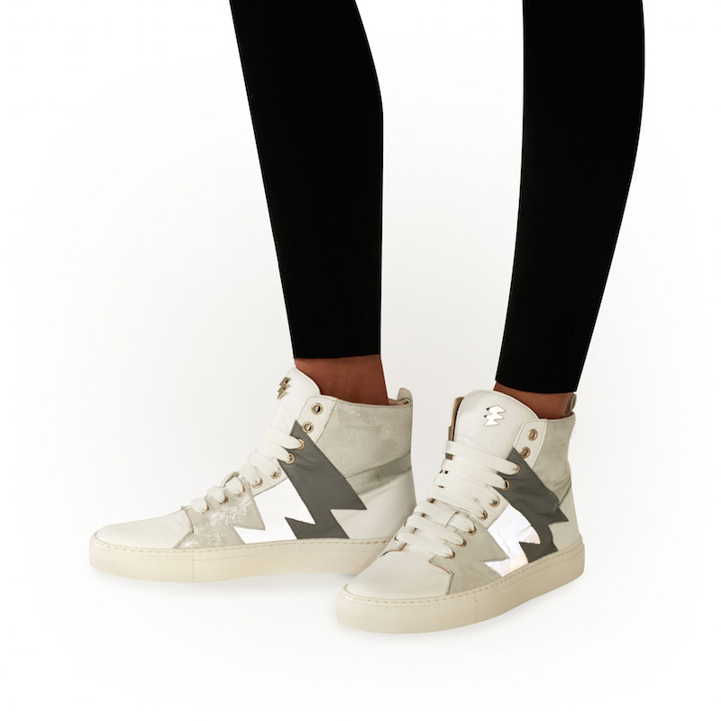 White Trainer High Product Image