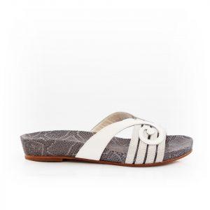 Swirl Sandal White Luxury Shoes 1