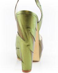 Zia Khaki Block heel Image 3