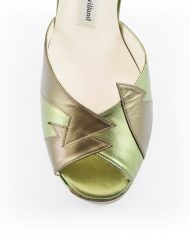 Zia Khaki Block Heel Image 7
