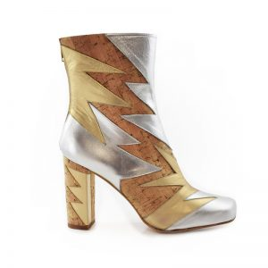 Cork Metallic Summer Shard Boot