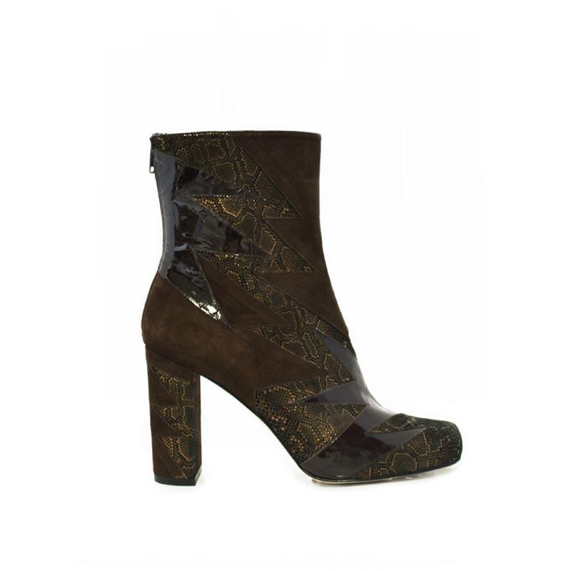 Bronze mamba shard boot