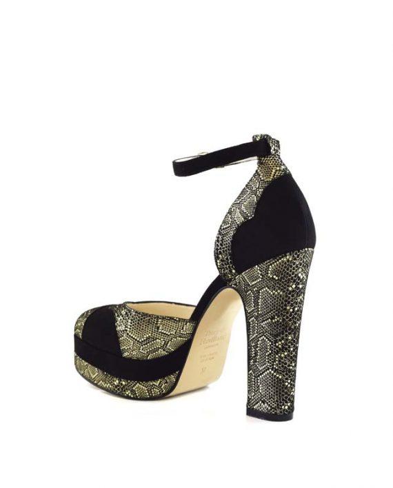 Lily mamba block heel 5