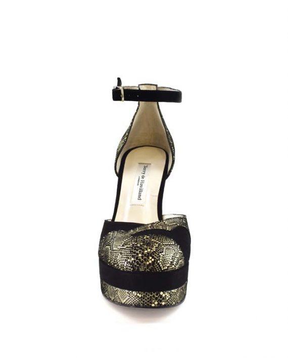 Lily mamba block heel 2