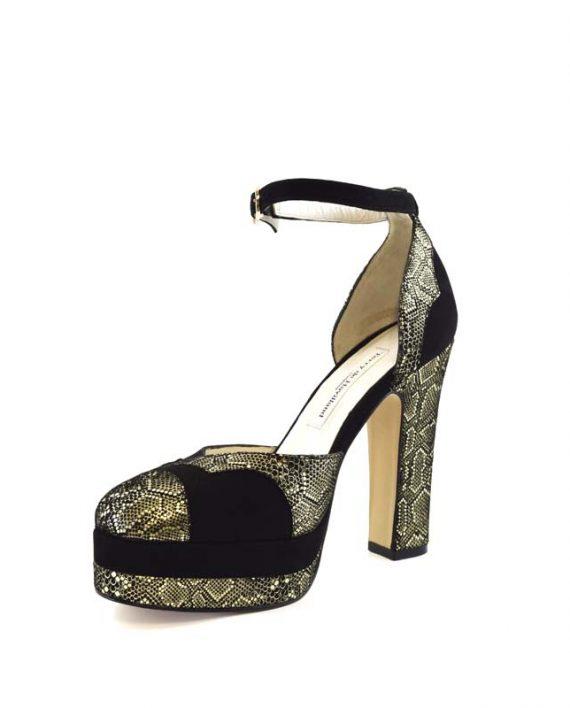 Lily mamba block heel 3