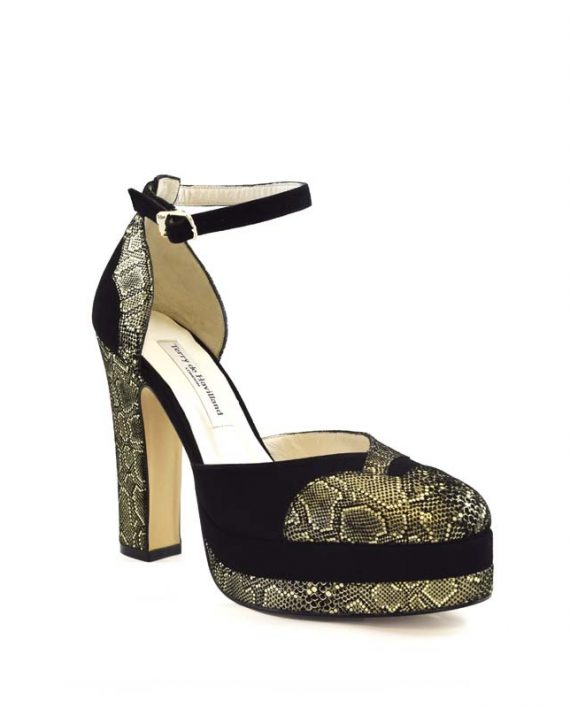 Lily mamba block heel 1