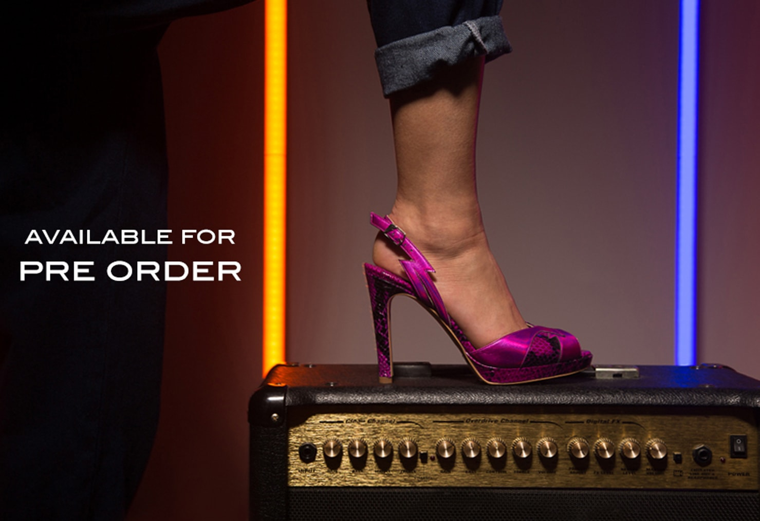 Ava pink shoe to pre order